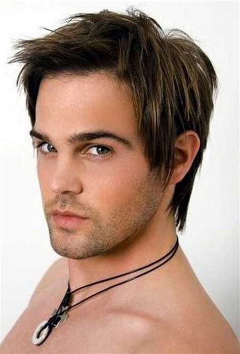 hairstyles of men with short hairs on square face long layered haircuts for men