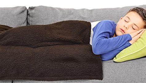 Brown Blanket Kid by Brown 48 X 58 Napa Sherpa Throw Blanket For Kid S