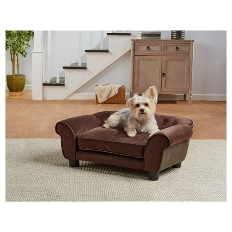 enchanted home pet ultra plush cleo tufted pet sofa target