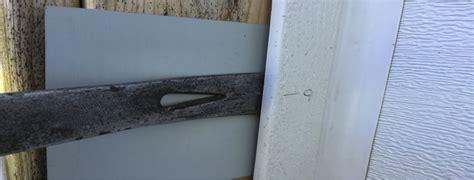 Garage Door Jamb Seal How To Remove And Install Garage Door Weather Seal