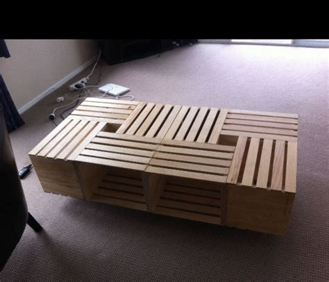 wood crate coffee best 25 crate coffee tables ideas on wooden
