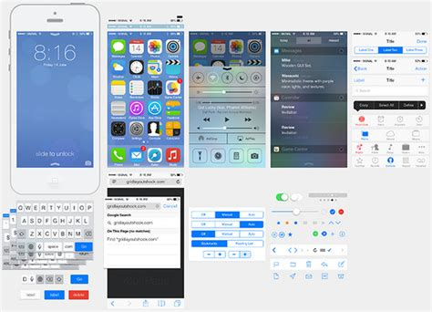 bootstrap themes iphone list of fresh and free psd web ui kits for websites and