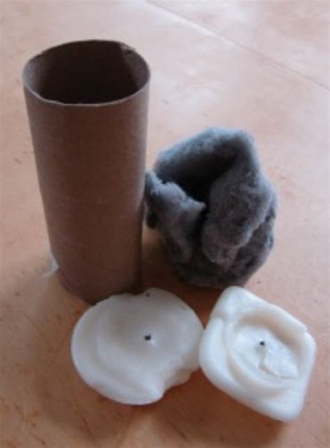 How To Make Starters With Toilet Paper Rolls - starters with toilet paper rolls candle wax