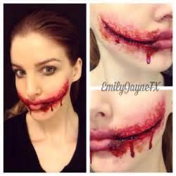 tutorial fx wax special effects makeup chelsea smile instagram