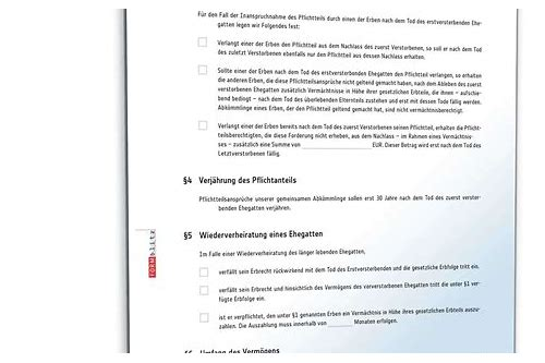 ehegattentestament muster download free - Ehegattentestament Muster