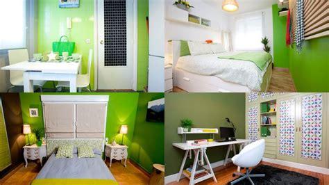 decoracion de espacios verdes pequeños muebles cocina color verde
