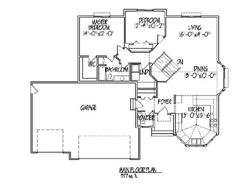 master on main floor plans house plans with master on main numberedtype