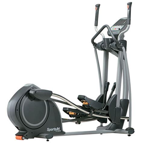 sportsart e825 elliptical at home fitness
