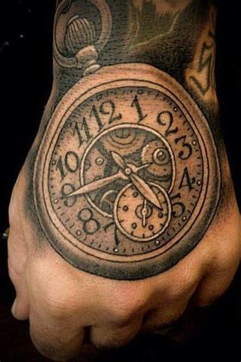 imagenes tatuajes reloj tatuajes brazo hombre reloj