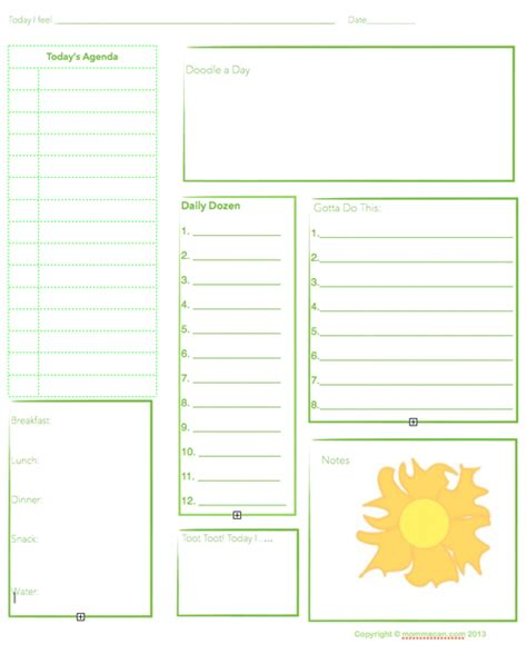printable planner agenda free printable daily planning agenda sheet for summer