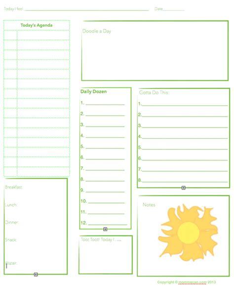 Galerry printable plan sheet