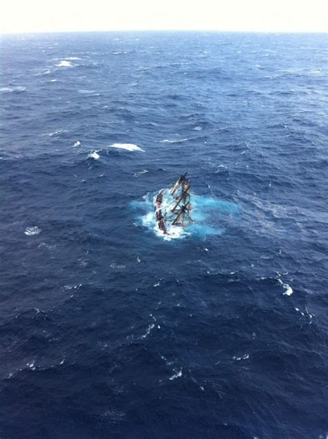 Hms Bounty Sinking bounty sinking and rescue in photos and gcaptain