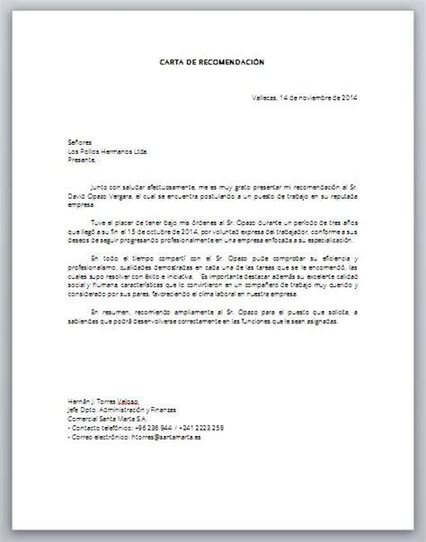 Modelo De Carta De Presentación Para Un Curriculum Word Formato Carta Laboral Laboral