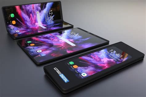 this beautiful galaxy f concept makes a strong for foldable phones bgr