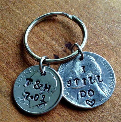 gifts for 15 year 15 year anniversary keychain 15th anniversary gifts for