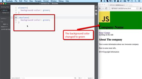 change font color jquery phpsourcecode net