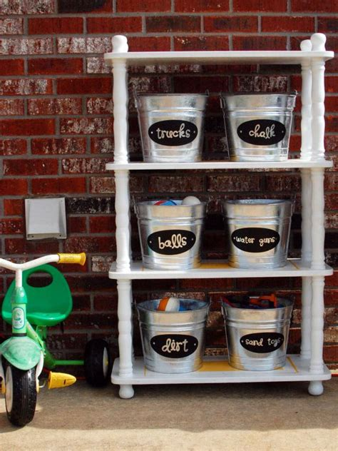 Garage Storage Toys Take Back Your Garage With These Fast Organizing Fixes