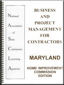 maryland home improvement commission license