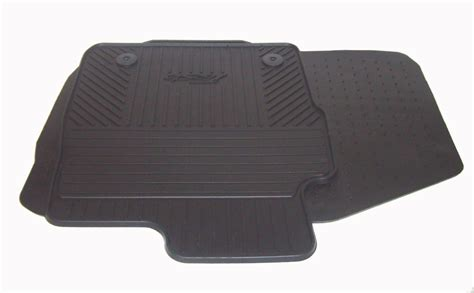 Ford Rubber Mats by New Genuine Ford Front Rubber Floor Mats 2011