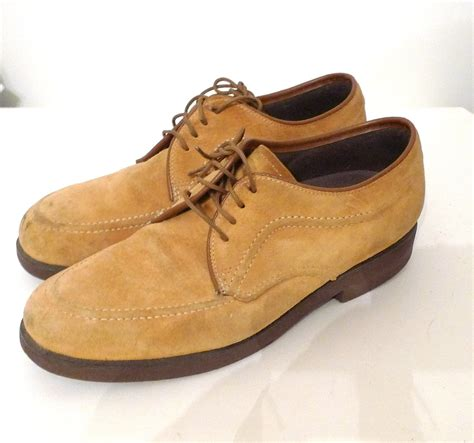 hush puppie shoes hush puppies oxfords suede creepers fawn colored brogues