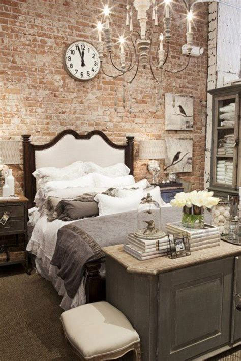 beautiful bedroom brick accent wall for the home