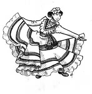 flamenco coloring sheets