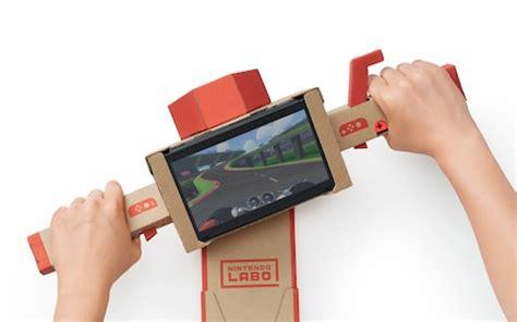 nintendo labo | switch cardboard toys release date, uk