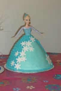 Frozen elsa doll cake cakes pinterest