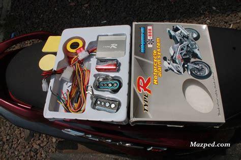 Alarm Motor Mio J Panduan Pemasangan Langsung repiu alarm motor typer mazpedia