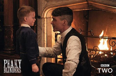 bbc news peaky blinders the tricks of creating a tv drama meet the child actor playing tommy shelby s son in peaky
