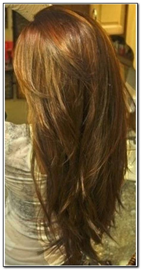front and back view of long hair styles long hair with layers back view my style pinterest