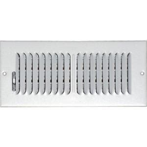 Ceiling Air Vents Home Depot by Speedi Grille 4 In X 12 In Ceiling Sidewall Vent