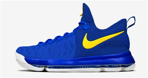 kevin durant new sneakers nikeid kd 9 warriors sole collector