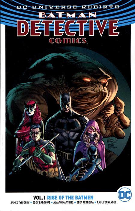 detective comics tp vol batman detective comics tp vol 01 rise of the batmen rebirt discount comic book service