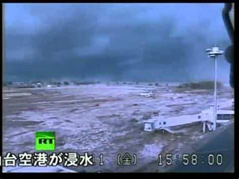 imagenes tsunami en japon imagenes del devastador tsunami golpeando aeropuerto en