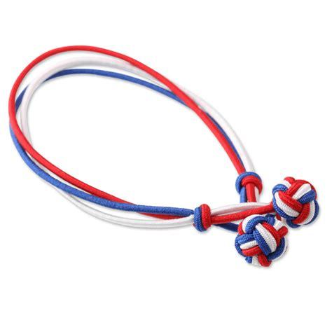Paul Hewitt Knot Bracelet (Blue White Red)   Elstarade Accessories Singapore