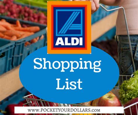 printable aldi vouchers aldi shopping list 1 29 2 4 17 pocket your dollars