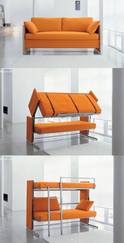 crazy beds this crazy sofa that turns into a bunk bed actually exists hellawella