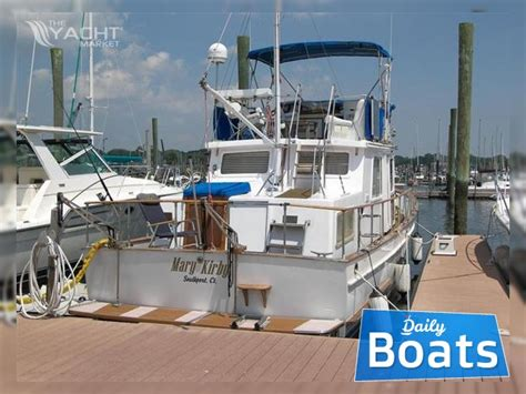marine trader boat reviews trawler marine trader 36 for sale daily boats buy