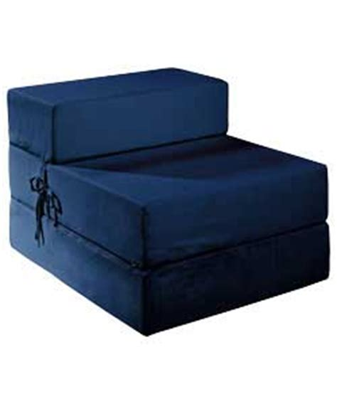Foam Chair Bed by Foam Chair Bed Blue Review Compare Prices Buy