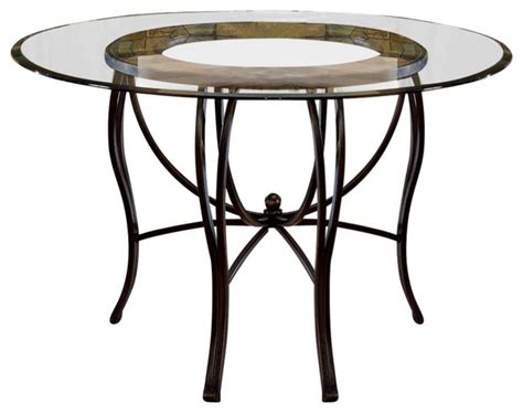 glass top dinette table contemporary dining tables