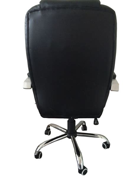 Metal Office Chair by Mcombo High Back Leather Executive Office Desk Computer