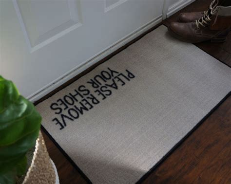 Shoes Doormat by 2 X 3 Remove Your Shoes Welcome Doormat Floormatshop