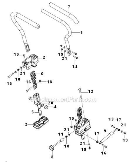 husqvarna zero turn parts diagram husqvarna rz5424 966691901 parts list and diagram