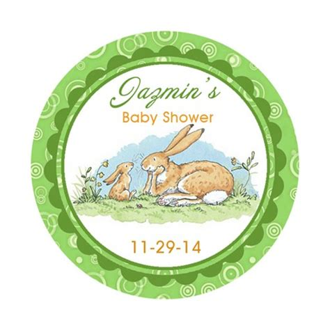 printable round sticker paper printable personalized peter rabbit baby shower round