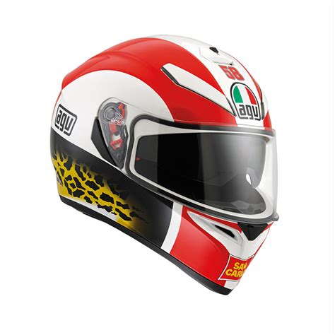 Helm Agv Replica agv k 3 sv replica simoncelli helmet lsh racing world
