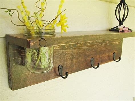 Wooden Decor by Wall Decor Rustic Wood Wall Shelves Rustic Wall Decor