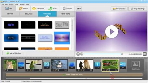 Wedding Animation Maker by How To Make An Animated Slideshow With