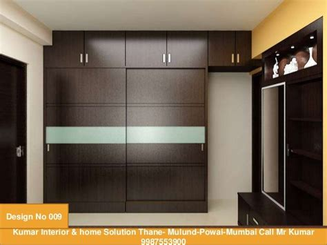 kumar interior home solution thane mulund powai mumbai call kumar design interiordesign bedroom cupboard