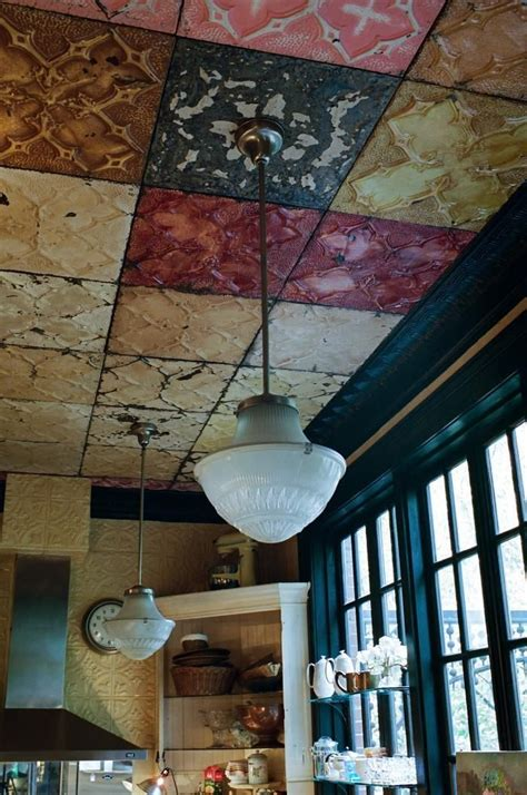 painting ceiling tile a designer s haunt in greenwich by